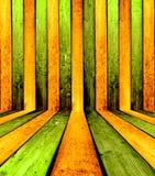 Fond intérieur en bois Image stock