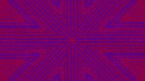 Fond iridescent rêveur de Cyberpunk dynamique de kaléidoscope illustration de vecteur