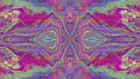 Fond iridescent rêveur futuriste géométrique multicolore illustration libre de droits