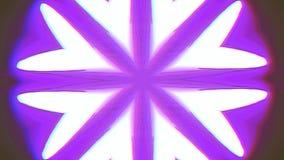Fond iridescent rêveur ornemental de kaléidoscope clips vidéos