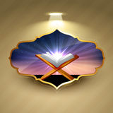 Fond islamique Image stock
