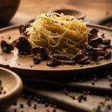 Fond italien de pâtes photographie stock libre de droits