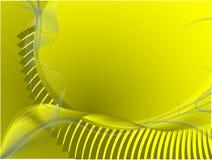 Fond jaune illustration libre de droits