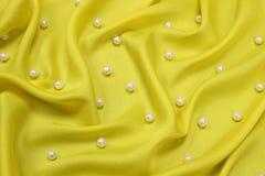 Fond jaune Images stock