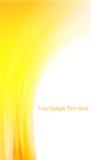 Fond jaune abstrait Photo libre de droits