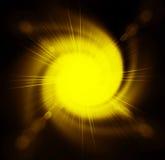 Fond jaune abstrait illustration libre de droits