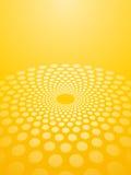 Fond jaune abstrait Images libres de droits