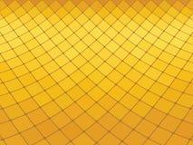 Fond jaune abstrait Photographie stock