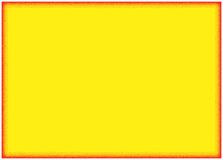 Fond jaune avec le cadre orange Images libres de droits
