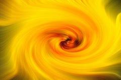 Fond jaune brillant de remous, papier peint illustration libre de droits