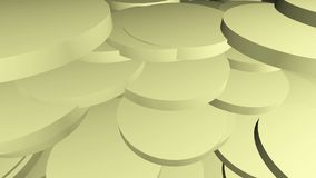 Fond jaune-clair animé abstrait clips vidéos