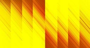Fond jaune-clair et orange d'abrégé sur dimension de chevauchement Image stock