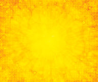 Fond jaune d'été Images libres de droits