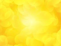 Fond jaune d'été Photos libres de droits