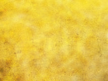 Fond jaune d'or Image stock