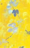 Fond jaune d'automne illustration libre de droits