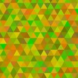 Fond jaune de mosaïque de grille, calibres créatifs de conception illustration libre de droits