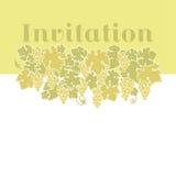 Fond jaune de raisin de cuve de couleur illustration libre de droits