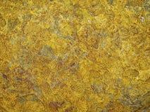 Fond jaune de roche Images libres de droits