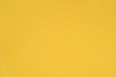 Fond jaune de texture de textile de coton Image stock