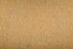 Fond jaune de texture de tissu Photographie stock libre de droits