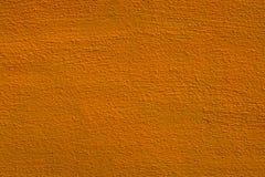 Fond jaune de texture de mur Images libres de droits
