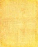 Fond jaune de tissu Image libre de droits