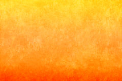 Fond jaune-orange Photographie stock