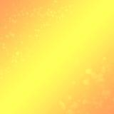 Fond jaune-orange Photographie stock
