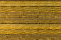 Fond jaune-orange avec les modèles géométriques Photographie stock libre de droits
