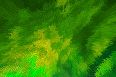 Fond jaune vert abstrait carré Photos stock