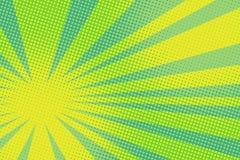 Fond jaune vert d'art de bruit illustration de vecteur