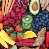 Fond juteux de fruits et légumes photo libre de droits