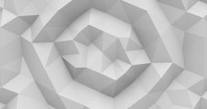 fond 4K abstrait polygonal banque de vidéos