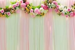 Fond large de mariage de scène Photographie stock libre de droits