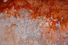 Fond : Le vieux mur de plâtre Photos stock