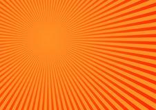 Fond éliminé orange Images libres de droits