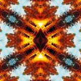 Fond linéaire abstrait de couleur. Image stock