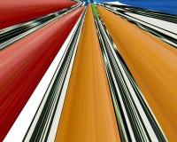 Fond linéaire abstrait de couleur. Photographie stock libre de droits