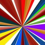 Fond linéaire abstrait de couleur. Photo libre de droits