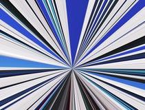 Fond linéaire abstrait de couleur. Image libre de droits