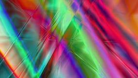 Fond linéaire abstrait de prisme Images libres de droits