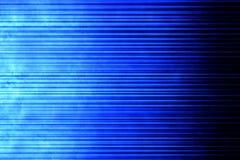 Fond linéaire bleu Photographie stock