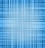 Fond linéaire bleu abstrait Photos stock