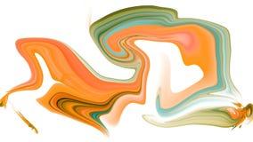 Fond liquéfié psychédélique coloré illustration de vecteur