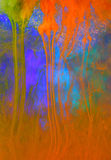 Fond liquide coloré d'art photos libres de droits