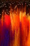 Fond liquide coloré d'art Image libre de droits