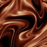 Fond liquide de chocolat Image stock