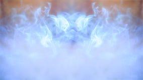 Fond, lumière et fumée colorés abstraits de defocus image stock
