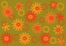 Fond lumineux abstrait Image stock